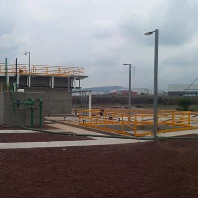 Construccion de Planta de tratamiento de Aguas El Marques Qro.