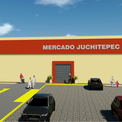 Render, Mercado Municipal.