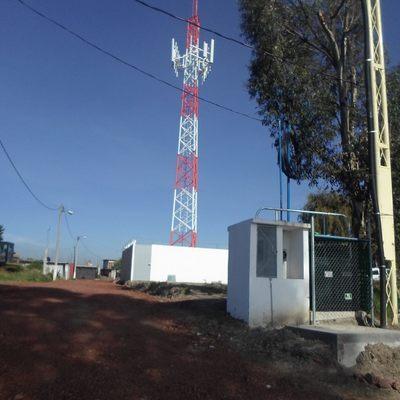 SUBESTACIÓN ELÉCTRICA PARA RADIO BASE DE TEELEFONIA CELULAR SITIO POLYRAFIA ATLACOMULCO