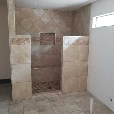 instalacion de ceramica en.baño