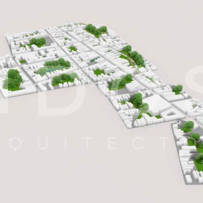 Rehabilitación Urbana del Eje Comercial Aranguren