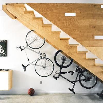 Escaleras con almacenaje inferior