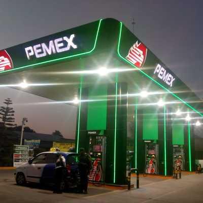 Cambio de imagen Pemex Nivel 2, en una Estación de Servicio (Gasolinera)