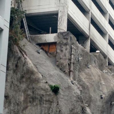 Instalaciones de acceso a zona de taludes.
