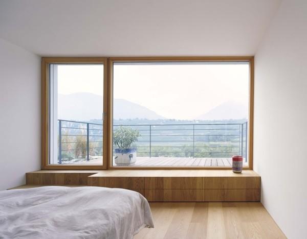 Foto rec mara con ventanal y aislamiento t rmico 222601 for Ventanas en madera para interiores