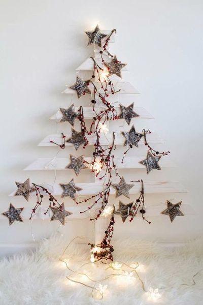 Árboles de Navidad Hechos con Palets | Ideas Diseño de Interiores