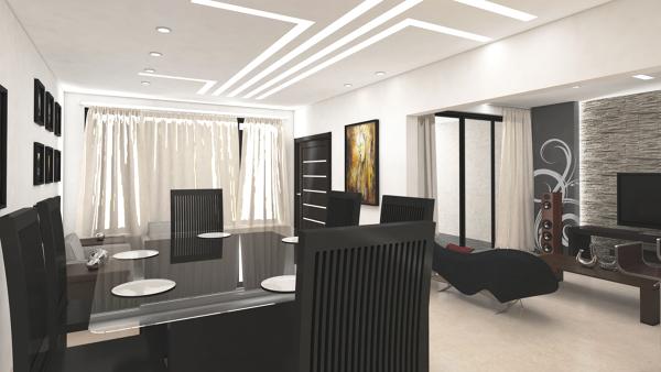 Diseño de Interior Sala Comedor   Ideas Decoración