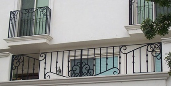 Foto barandal exterior de comercial vireth 182380 Balcones madera exterior