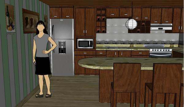 Foto: Cocina/Comedor de Arquitectura / Diseno / Construccion #342142 ...
