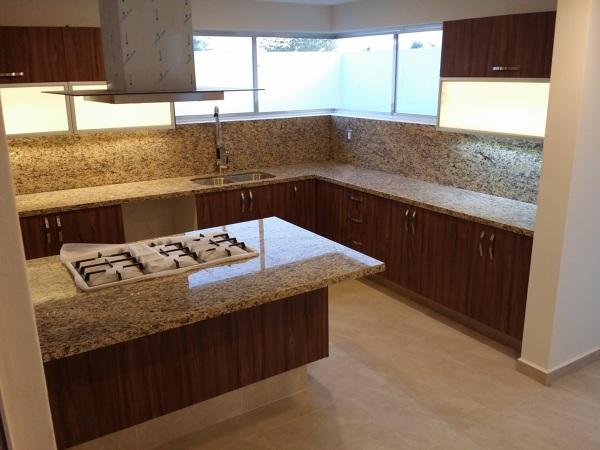 Cocina Con Granito : Foto cocina con isla cubiertas de granito conlaf