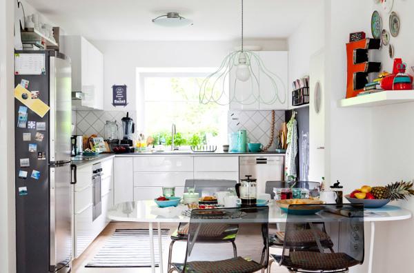 Foto cocina con zona comedor 255226 habitissimo - Planificar cocina ikea ...