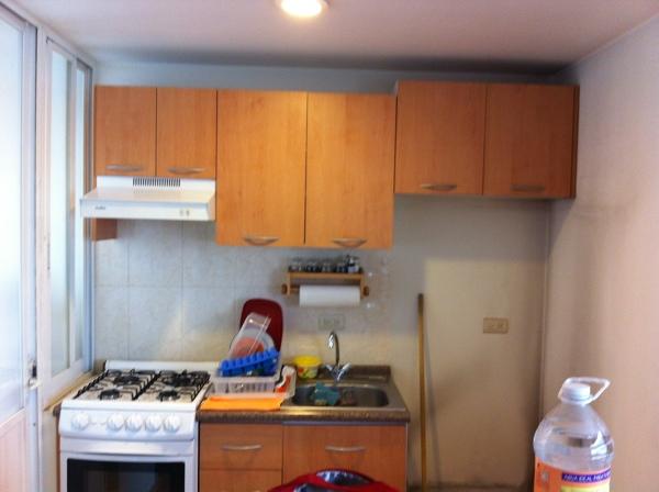 Foto cocina integral durante la toma de medidas e inicio for Cocinas integrales a la medida