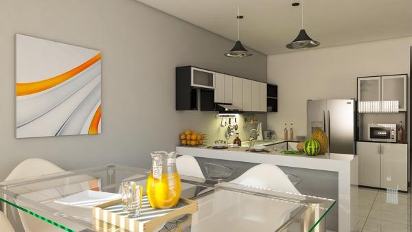 Foto: Cocina Integral y Comedor Casa Tipo 2 de Resort Technical ...
