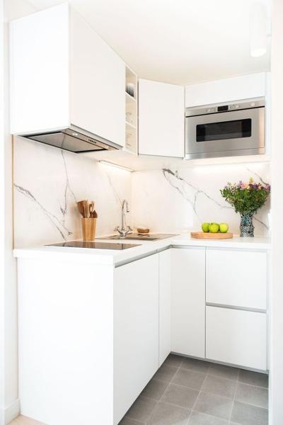 Foto: Cocina de Diseño con Muebles Color Blanco #246618 - Habitissimo