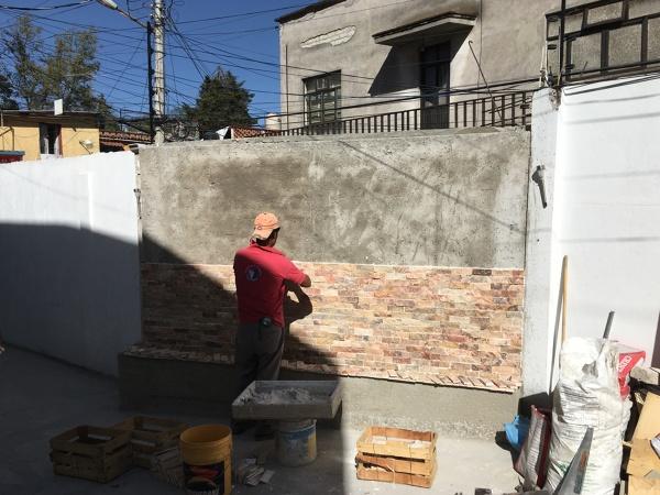 Foto colocaci n de revestimiento en piedra natural de gabro construcci n y servicios 329548 - Revestimiento de piedra natural precios ...
