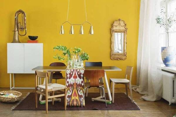 foto comedor en amarillo 136190 habitissimo