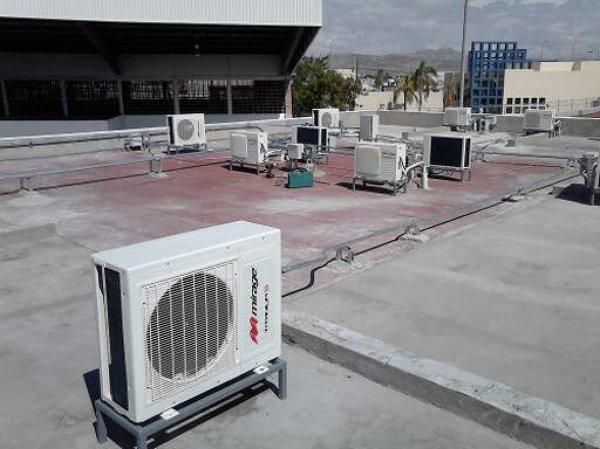 Foto Condensadoras Azotea De Climatronic 125650
