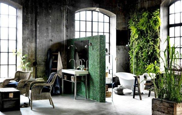 Foto: Decoracion-cuarto-de-bano-plantas-1024x651 #99932 - Habitissimo