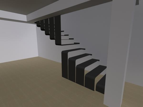 foto diseo de escalera metalica de vivanco arquitectos habitissimo
