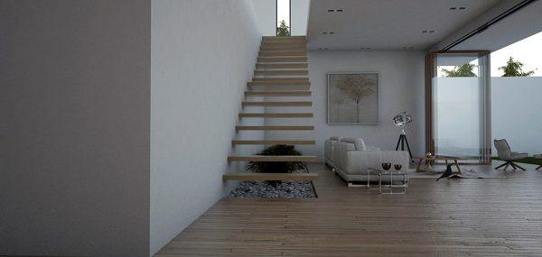 Foto dise o de interiores casa habitacion de krteciano for Diseno estructural de casa habitacion