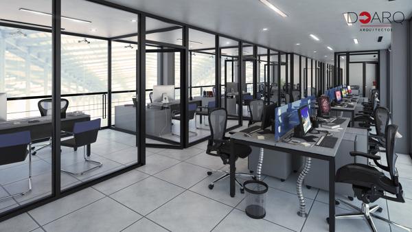 Foto: Diseño Interiores Oficinas de DOArq Arquitectos ...
