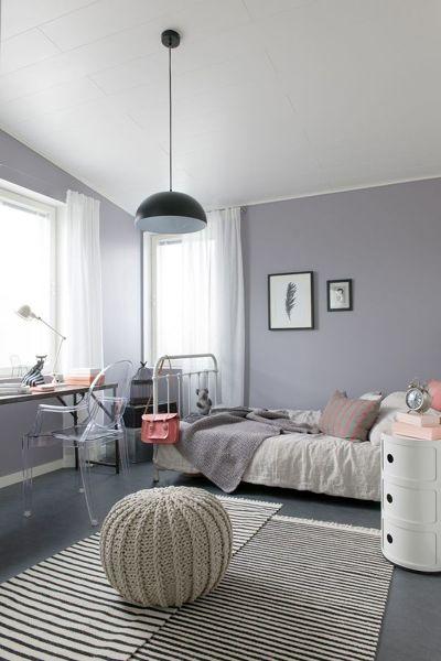 Foto rec mara gris con tapetes 236050 habitissimo for Dormitorios pintados en gris