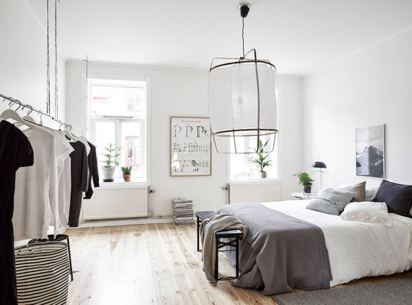 Foto dormitorio en blanco y negro 148328 habitissimo - Dormitorio en blanco y negro ...