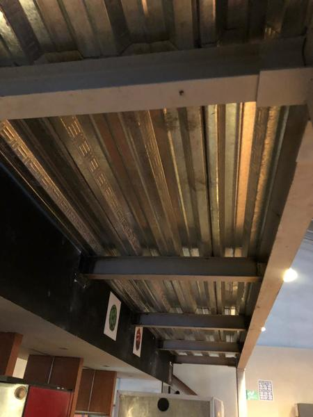 Foto Estructura Metalica Terraza De Irh Mantenimiento Y