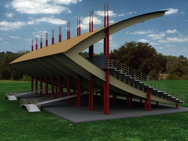 Proyectos de construcci n en coyoac n distrito federal for Diseno de gradas