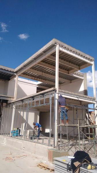 Foto instalacion estructura metalica para panel durock - Precio estructura metalica ...