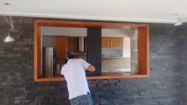 Foto: marco barra de servicio de cocina comedor de diseño e ...