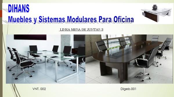 Foto mesas de juntas de dihans muebles y sistemas for Muebles de oficina puebla