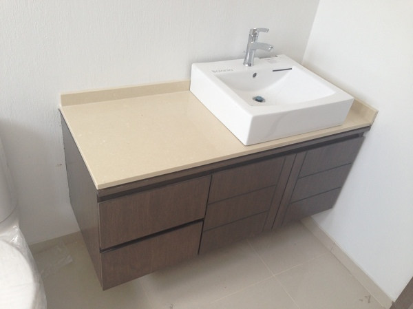 Foto mueble de ba o de arki3d 64081 habitissimo for Mueble bano minimalista