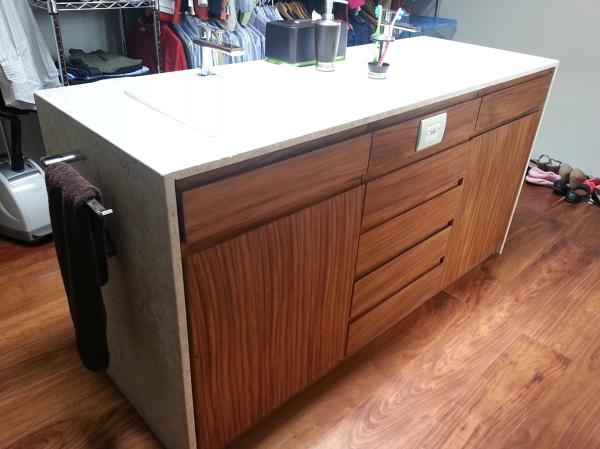 Foto mueble de lavabo de alfariarquitectos 155089 for Mueble lavabo moderno