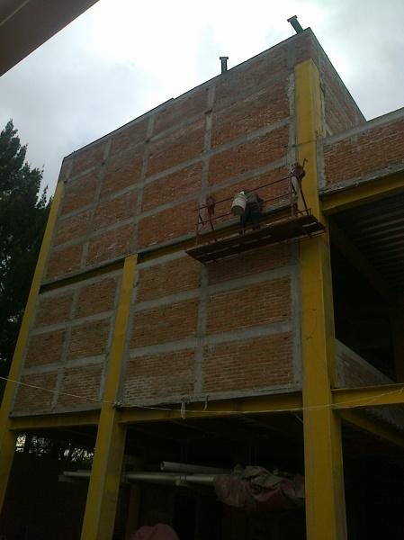 Foto Muros Exteriores Edificio 1 De Mrarquitectos 173628 - Muros-exteriores