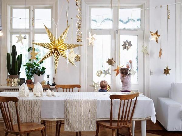 Foto Navidad Ikea 2014 Decorar Blanco Dorado L Dxhbli
