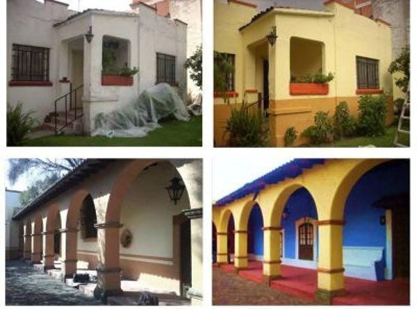Foto pintado de fachadas de juan carlos salda a guzm n - Pintado de fachadas ...