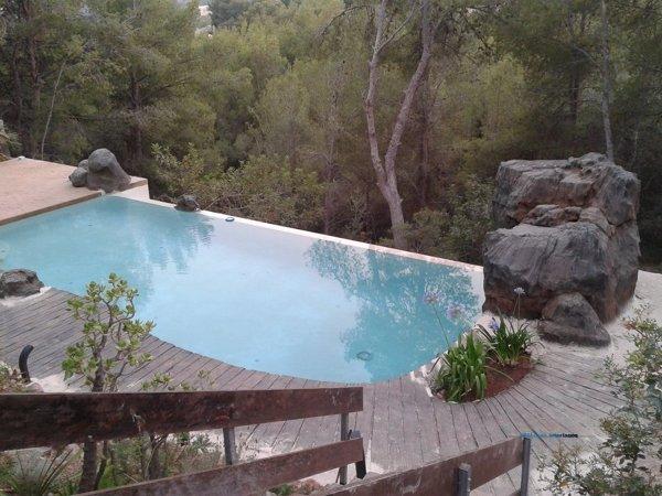 Foto piscina de arena 170985 habitissimo Piscina arena compactada