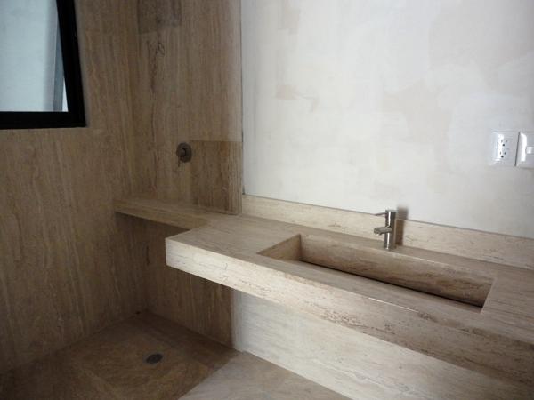 Lavabos para ba o de concreto for Planchas para forrar banos