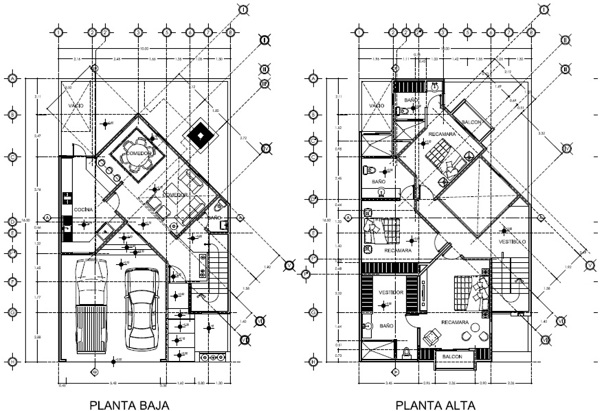 Foto planta arquitect nica de arquitectura y construcci n for Plantas de arquitectura