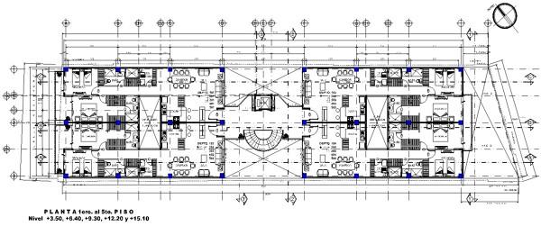 Foto planta arquitectonica de proyectos construccion for Oficinas planta arquitectonica