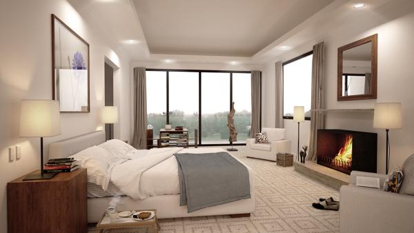 Foto propuesta recamara principal de maz architecture for Foto del dormitorio principal moderno