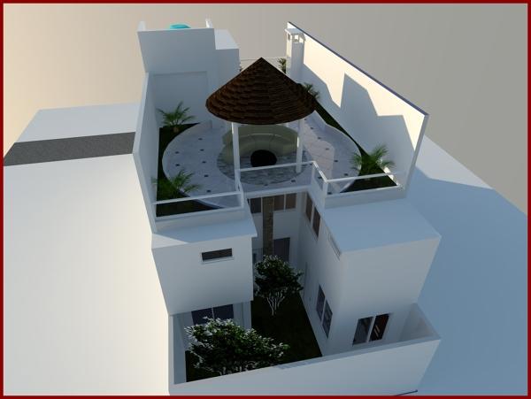 Foto proyecto casa habitaci n de construccion for Proyecto casa habitacion minimalista