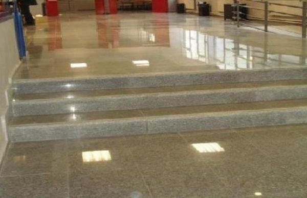 Foto pulido de pisos marmol granito de lilmex y for Pisos en marmol y granito