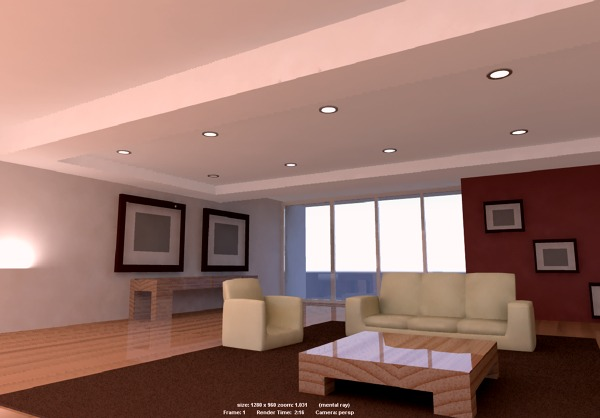 Foto render interior para evaluar combinaci n de colores - Combinacion de colores para interior ...