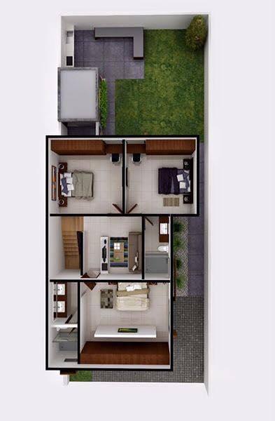 Foto render segunda planta casa el refugio qro de gs for Rendering casa gratis