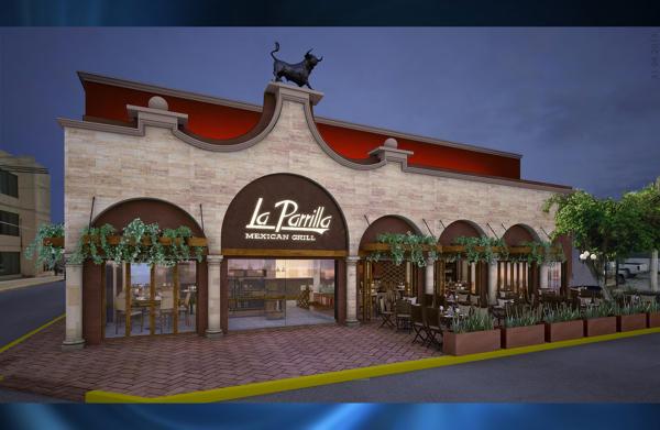 Foto restaurante la parrilla paseos de montejo merida for Fachada para restaurante