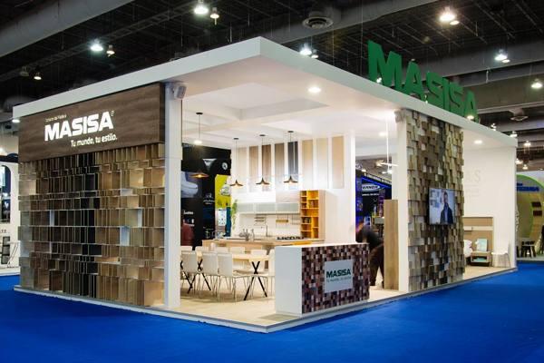 Expo Milan Stands : Foto stand en expo cihac de estilos por masisa