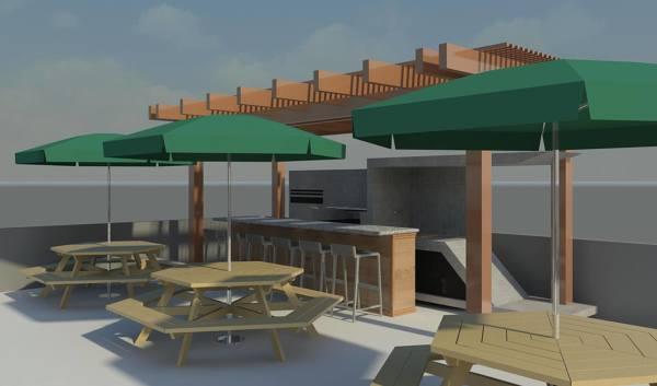 Foto Terraza Piso 3 De Ar T Diseño Y Construccion 339608
