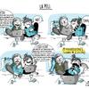 Ilustración vida en pareja